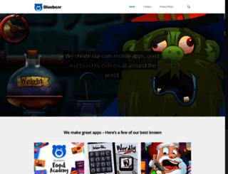 bluebear.ie screenshot