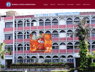 bluebellsinternational.com screenshot