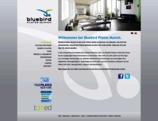 bluebirdpilates.com screenshot