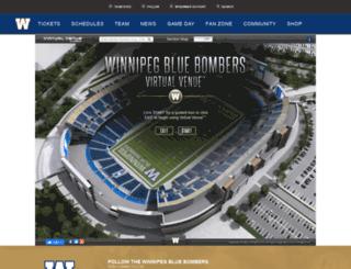 bluebombers.io-media.com screenshot