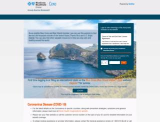bluecardworldwide.com screenshot