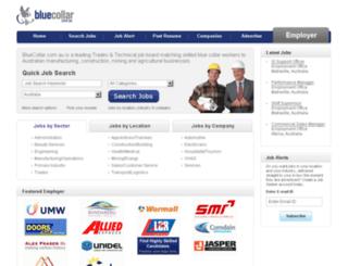 bluecollar.com.au screenshot