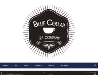 bluecollarteaco.com screenshot