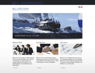 bluecom.com screenshot
