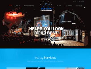bluedog-productions.com screenshot