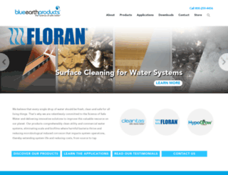 blueearthlabs.com screenshot