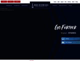 bluefield.edu screenshot