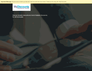 bluefin.rewardgateway.co.uk screenshot