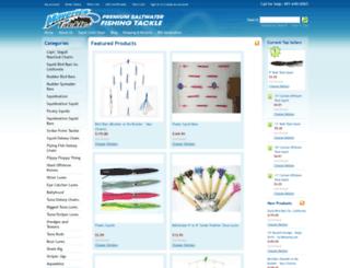 bluefintunatackle.com screenshot