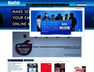 bluefish-emarketing.com screenshot