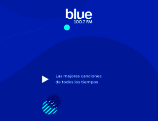 bluefm.com.ar screenshot