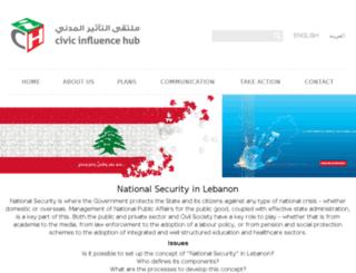 bluegoldlebanon.com screenshot