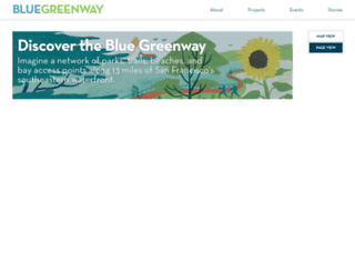 bluegreenway.org screenshot
