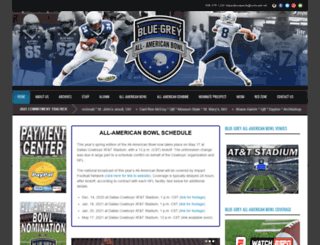 bluegreyfootball.com screenshot