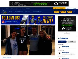 bluehens.com screenshot