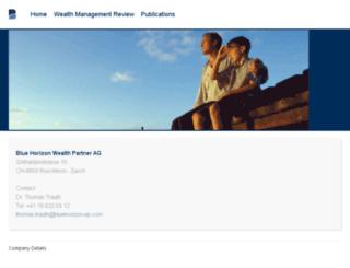 bluehorizon-wp.com screenshot