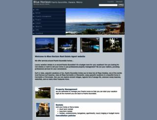 bluehorizon.com.mx screenshot