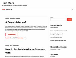 bluemark.info screenshot
