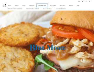 bluemoonburgers.com screenshot