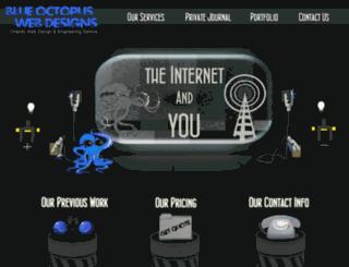 blueoctopuswebdesigns.com screenshot