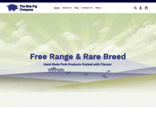 bluepigcompany.com screenshot