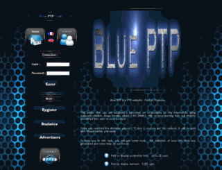 blueptp.fr screenshot