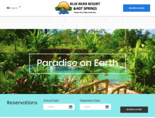 blueriverresorthotel.com screenshot