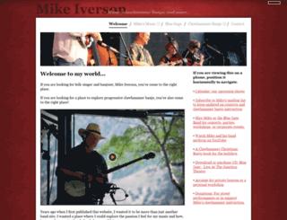 bluesageband.com screenshot