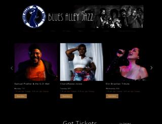 bluesalley.com screenshot