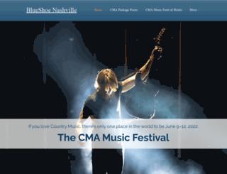 blueshoenashville.com screenshot