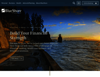 blueshorefinancial.com screenshot