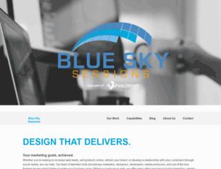 blueskysessions.com screenshot