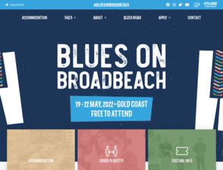 bluesonbroadbeach.com screenshot