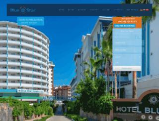 bluestarhotel.com screenshot