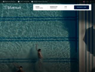bluesunhotels.com screenshot