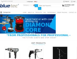 bluetec-tools.com screenshot