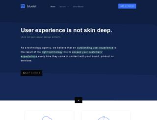 bluetel.co.uk screenshot