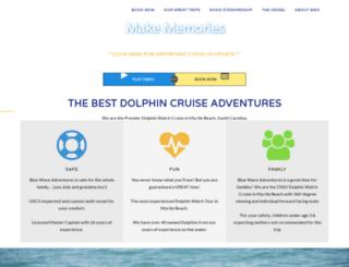 bluewaveadventures.com screenshot
