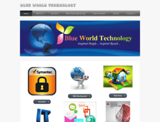 blueworldtechnology.in screenshot