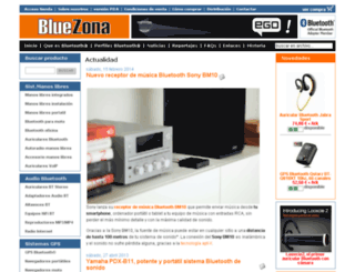 bluezona.com screenshot