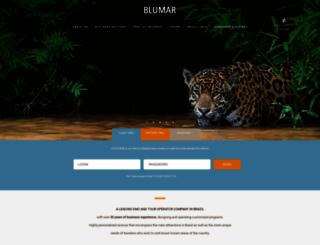 blumar.com.br screenshot