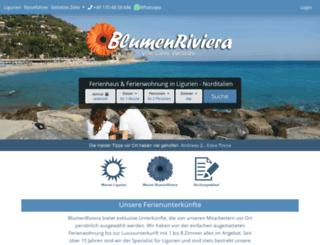 blumenriviera.de screenshot