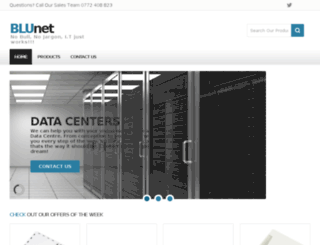 blunet.co.zw screenshot