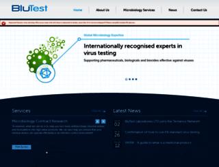 blutest.com screenshot