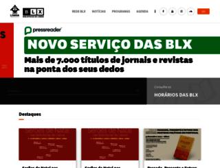 blx.cm-lisboa.pt screenshot