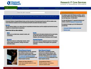 bmi.cchmc.org screenshot