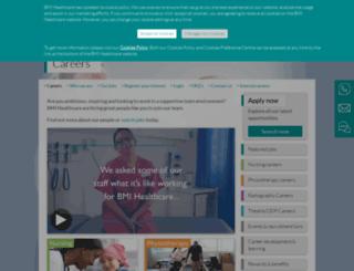 bmihealthcarejobs.co.uk screenshot