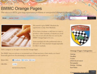 bmmcorangepages.wordpress.com screenshot