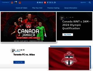 bmofield.com screenshot