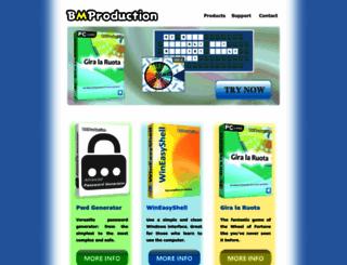 bmproduction.net screenshot